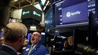 Spotify debuta en Wall Street con subidas del 25%