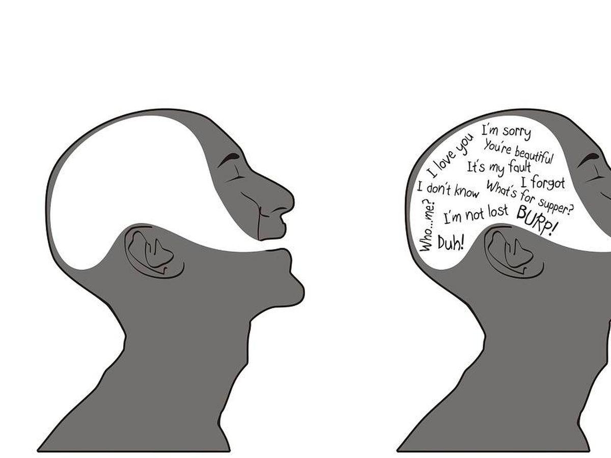 Foto: Los dos hemisferios del cerebro colaboran en el habla. Foto: Pixabay