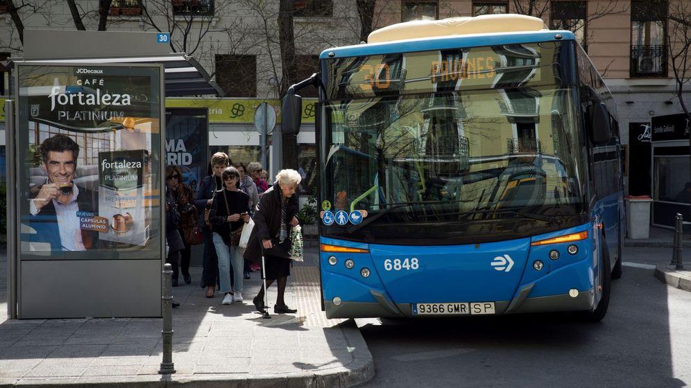 Foto: Un autobus de la EMT de Madrid. (EFE)