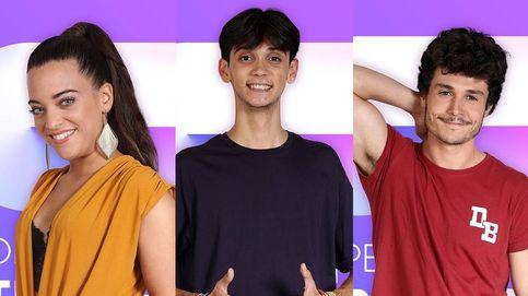 Noelia, Dave y Miki, concursantes de 'OT 2018'