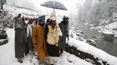 Una boda de invierno en Cachemira