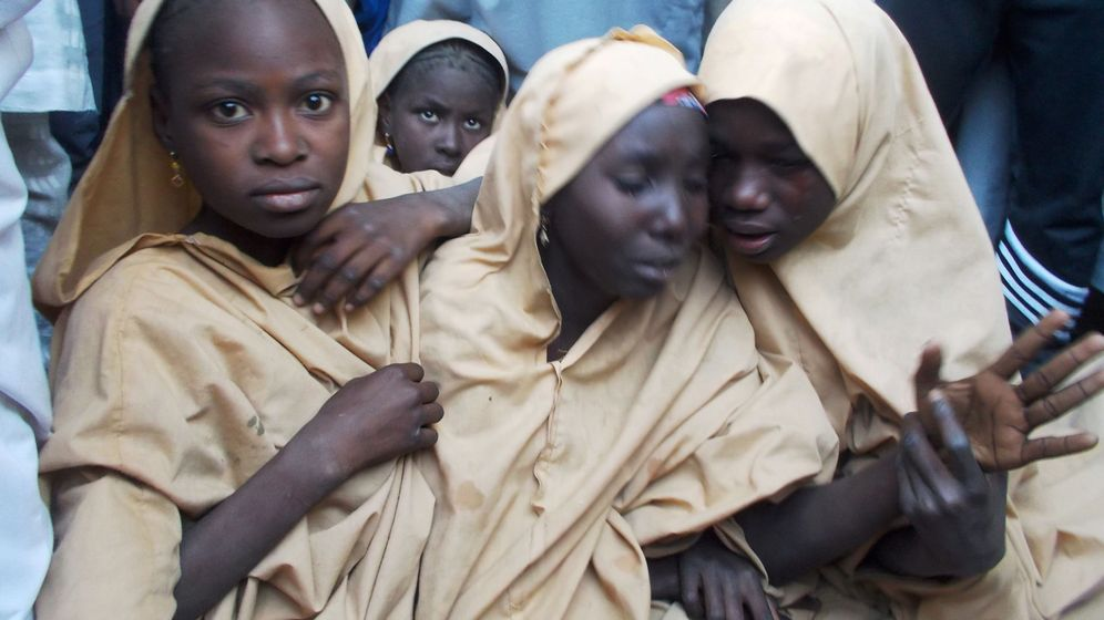 Foto: Algunas de las niñas que sí fueron liberadas de las manos de Boko Haram | Reuters