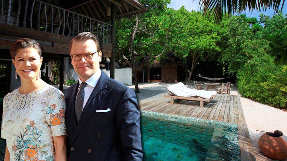 Las lujosas vacaciones de Victoria y Daniel en Maldivas por 7.200 euros al día