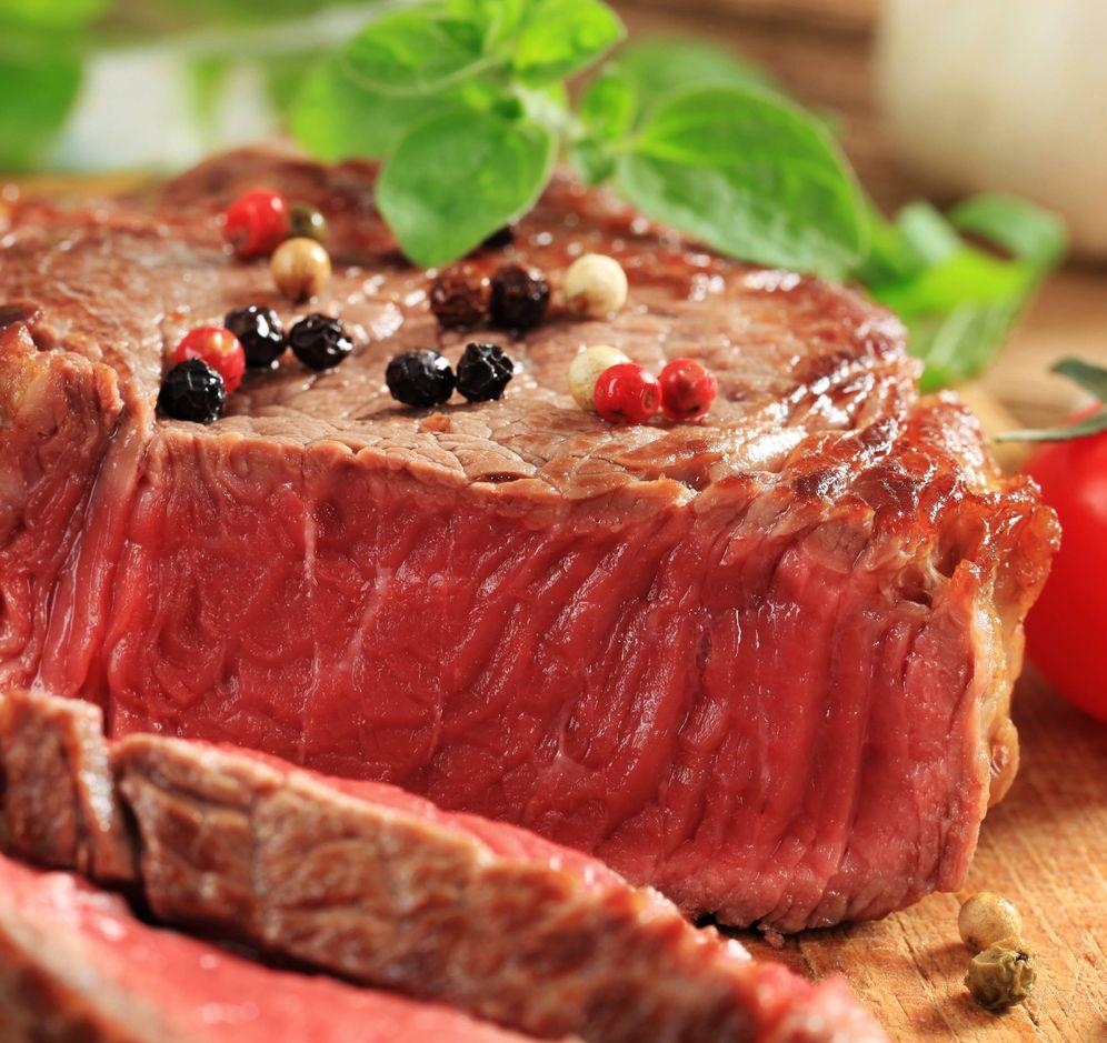 Foto: Un suculento bistec de ternera. (iStock)
