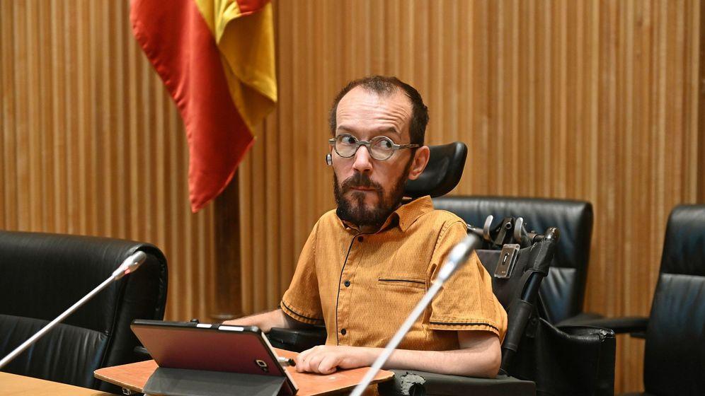 Foto: El responsable de Acción Política de Unidas Podemos, Pablo Echenique. (EFE)