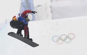 Eguibar finaliza séptimo en boardercross cuando apuntaba a la posibilidad de medalla
