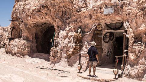 Una vida subterránea para combatir el calor extremo en el desierto de Australia