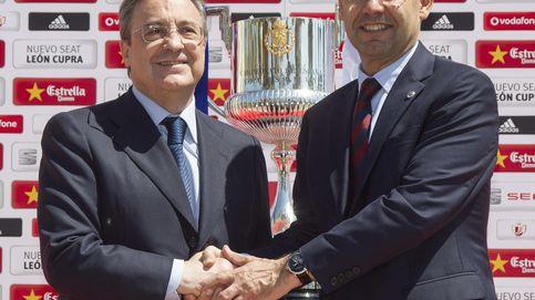 Órdago a Florentino: Athletic y Barça piden la final en el Bernabéu