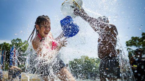 Agua contra el calor