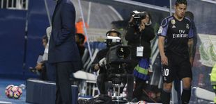 Post de James, el último 'galáctico' del Madrid que Zidane convirtió en descarte