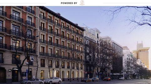 Viviendas con terraza y piscina en un edificio histórico de la calle Génova