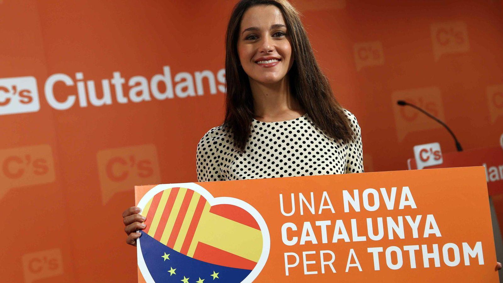 Foto:  La candidata de Ciutadans a la presidencia de la Generalitat, Inés Arrimadas. (EFE)