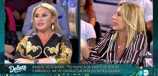 Post de Descomunal riña entre Raquel Mosquera y Belén Rodríguez en el 'Deluxe'