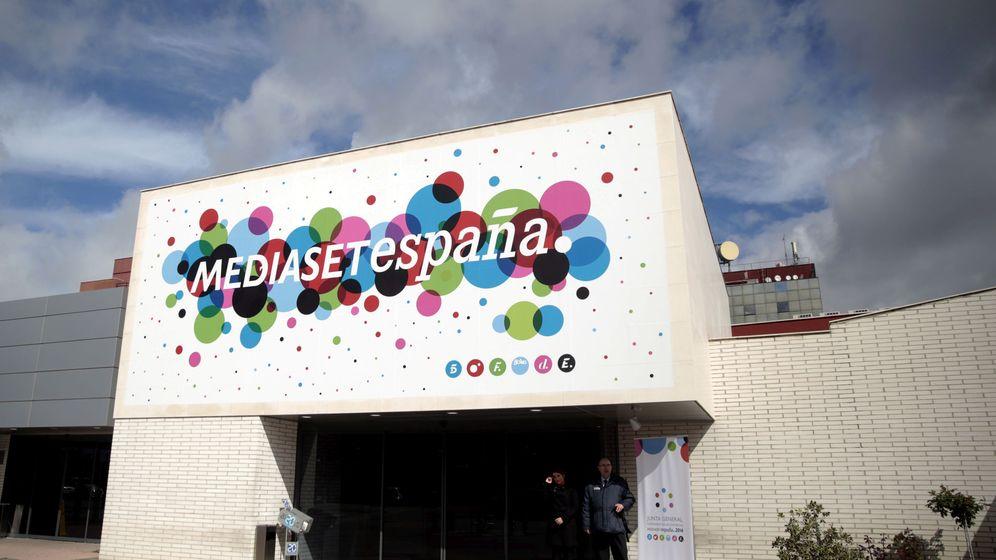 Foto: Sede de Mediaset España en Madrid. (Reuters)