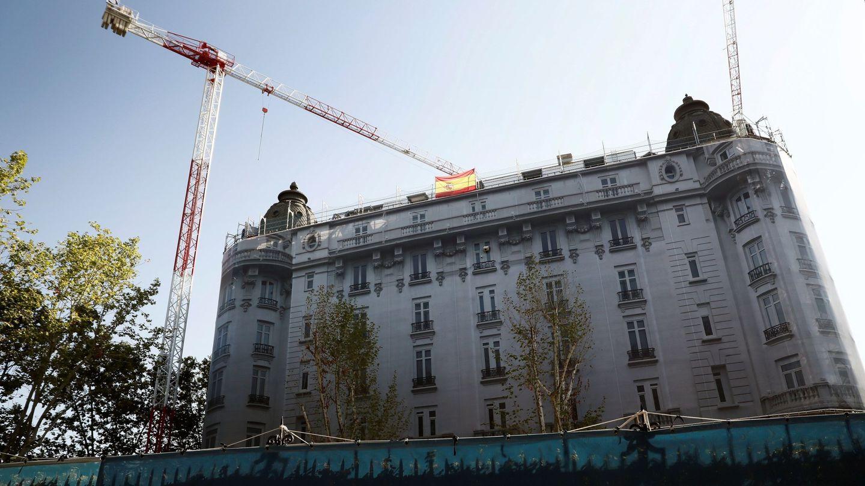 Obras en el hotel Ritz de Madrid. (EFE)