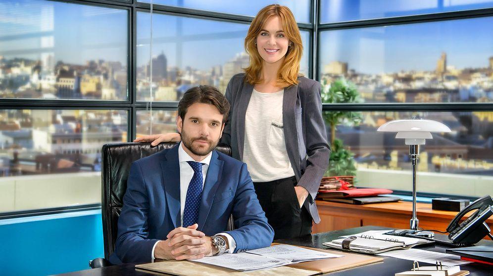 Foto: Jon Arias y Alba Ribas, protagonistas de 'Derecho a soñar'.