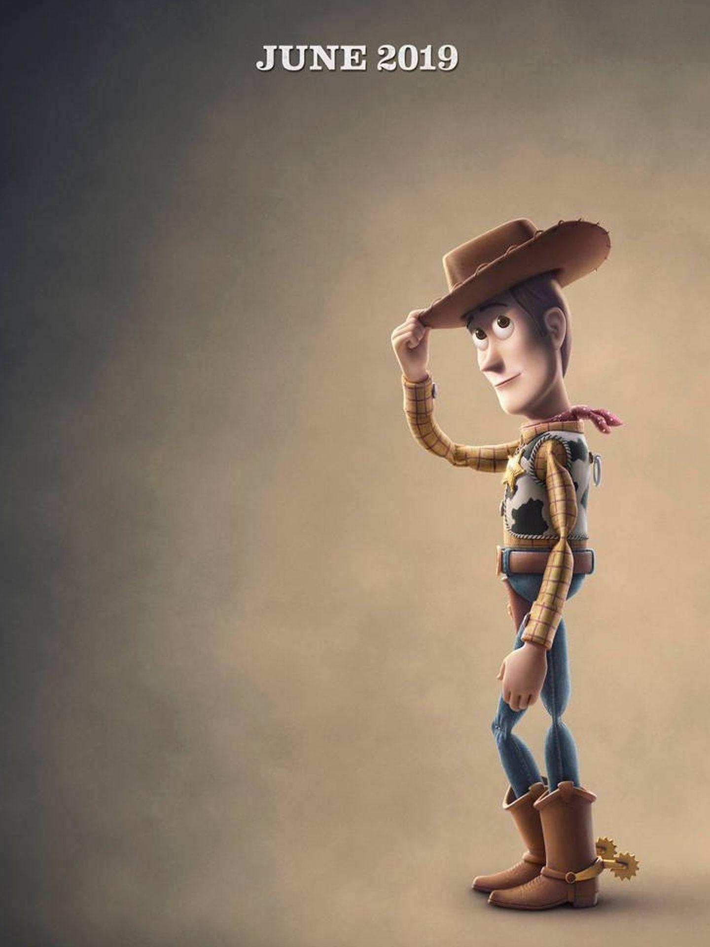 Woody, el gran protagonista de la saga Toy Story