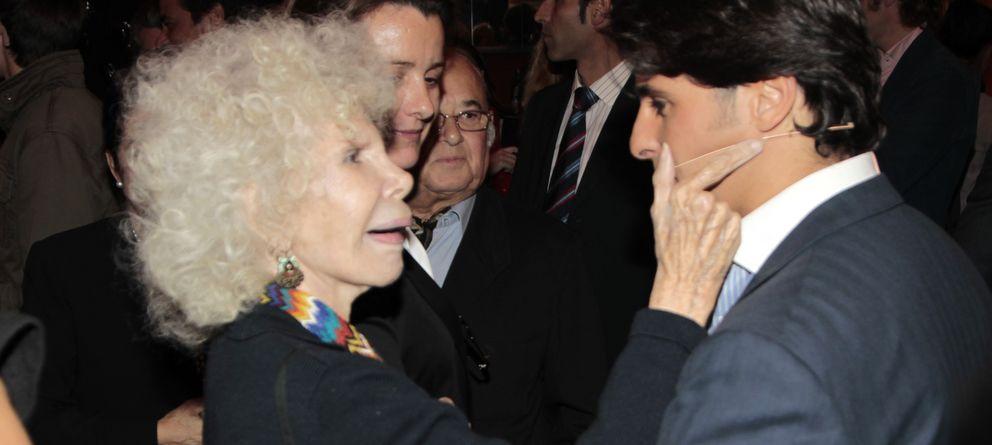 Foto: La duquesa de Alba y Fran Rivera en 2010 (Gtres)
