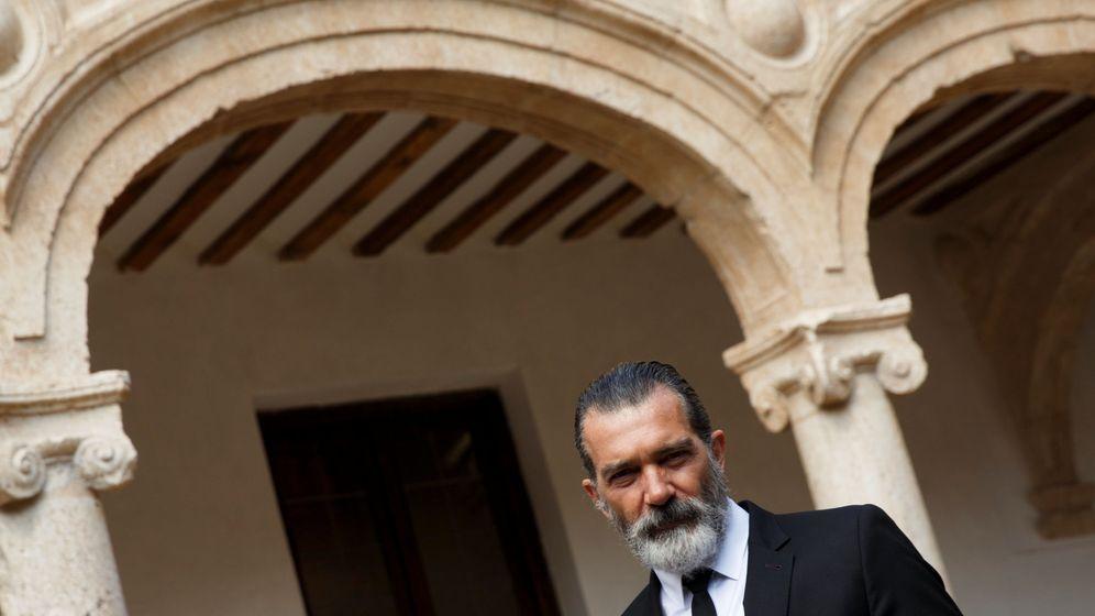 Foto: El actor Antonio Banderas posa en Alcalá de Henares, Madrid. (Reuters)