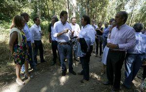 Rajoy vuelve a La Moncloa y el PP sigue de vacaciones