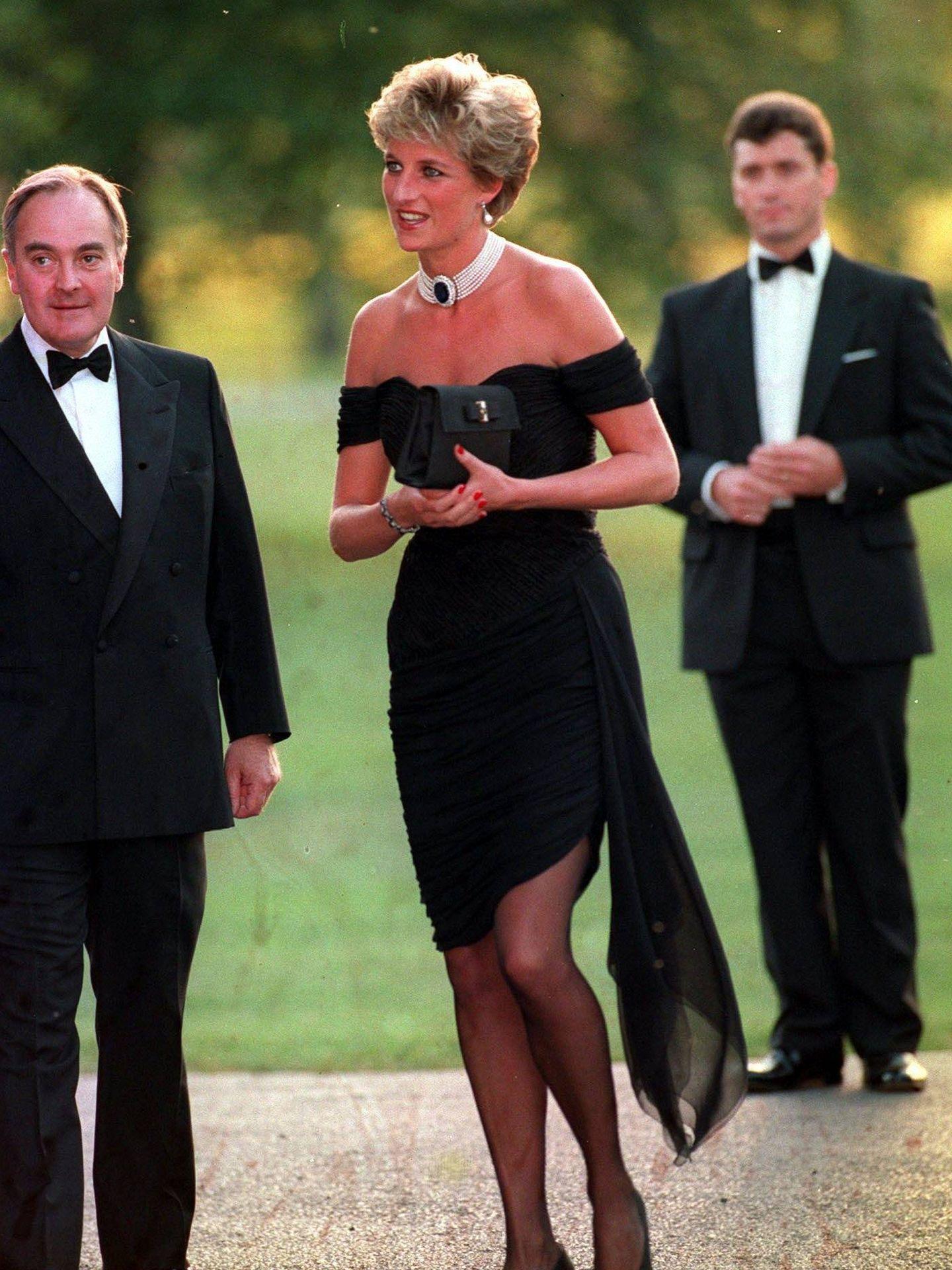 Lady Di con el 'vestido de la venganza'. (Cordon Press)