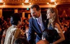 Felipe y Letizia acuden por sorpresa y entre aplausos a 'Tristán e Isolda'