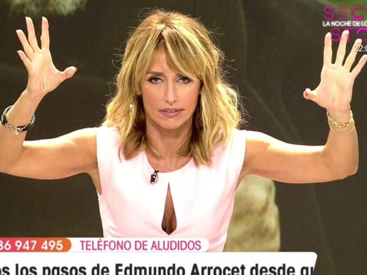 Foto: Emma García, en 'Viva la vida'. (Telecinco).