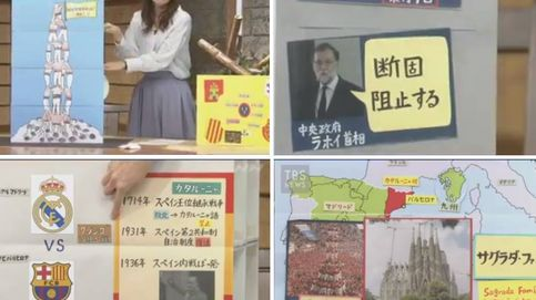La asombrosa explicación del 1-O en la televisión japonesa con cajas de cartón