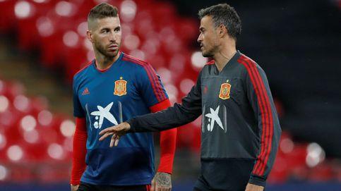 Los galones de Sergio Ramos en la selección española o cómo trabaja de 'coach'