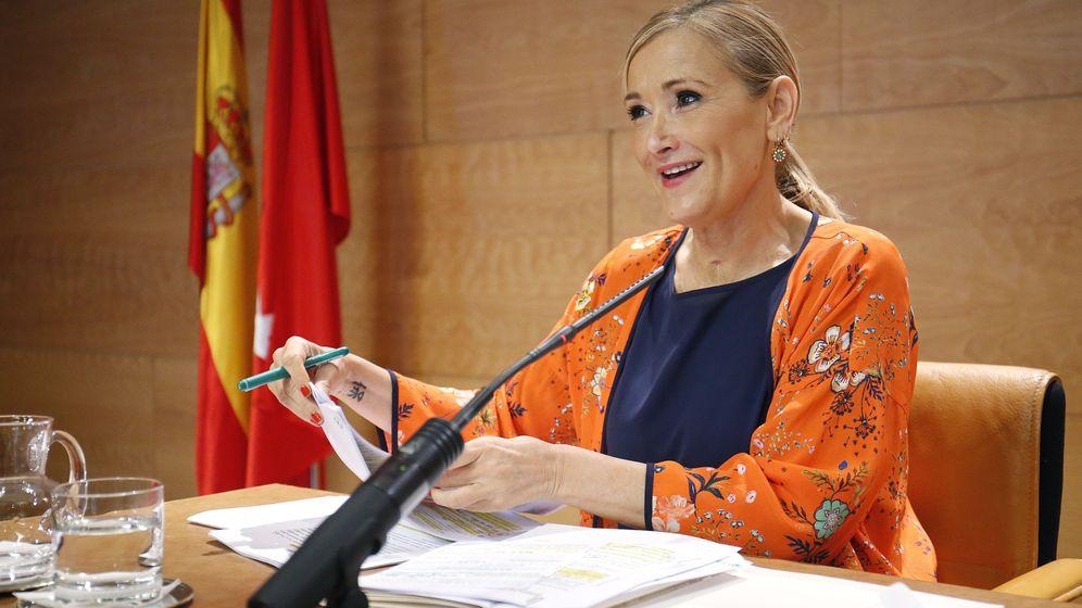 Foto: La presidenta regional Cristina Cifuentes. (EFE)