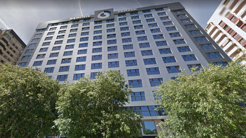 El edificio de oficinas en el que está domiciliada Assedox, las sociedad pantalla de Walmart en España. (Google)