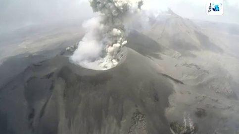Espectaculares imágenes del cráter del volcán Subancaya