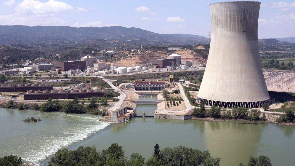 Foto: Central nuclear de Ascó I.