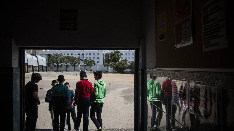 Niños del Instituto Machado, en un intercambio de clase (Fernando Ruso).