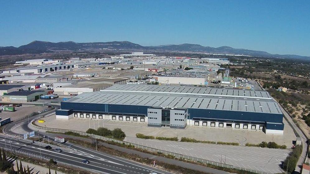 Foto: Nave industrial propiedad de Axiare en Cataluña.