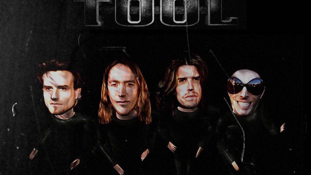 Foto: La banda de rock metal Tool en una imagen promocional