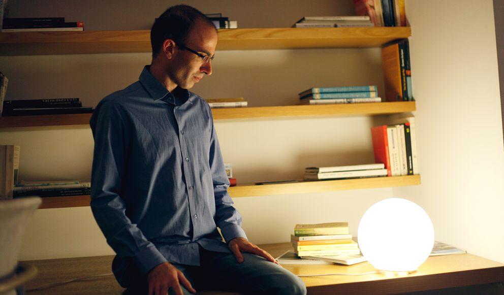 Foto: El profesor de la Universidad Hebrea de Jerusalén (Fotos: Enrique Villarino)