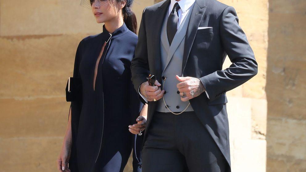 David Beckham y Victoria, invitados estrella de la boda de Sergio Ramos y Pilar Rubio