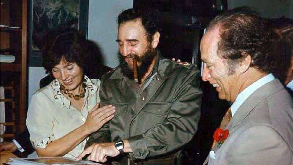 Foto: Las fotografías del viaje de la madre de Trudeau a Cuba alimentaron las teorías. (CBC)