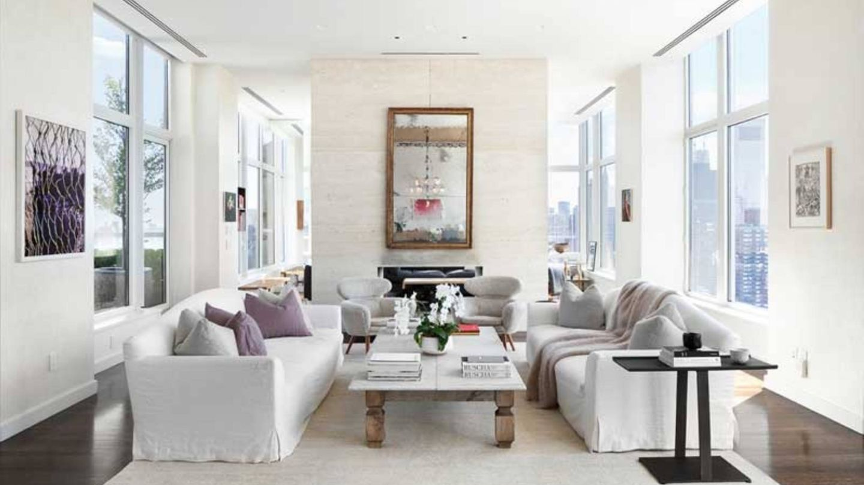 El espectacular piso que Jennifer Lawrence ha vendido en Nueva York por la inmobiliaria Compass. (Cortesía)