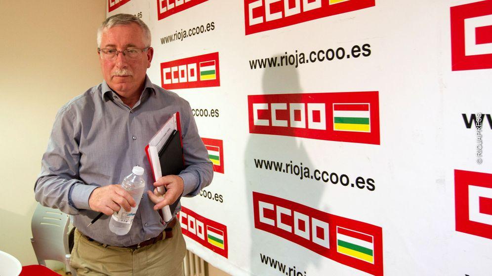 Foto: El secretario general de CCOO, Ignacio Fernández Toxo. (EFE)