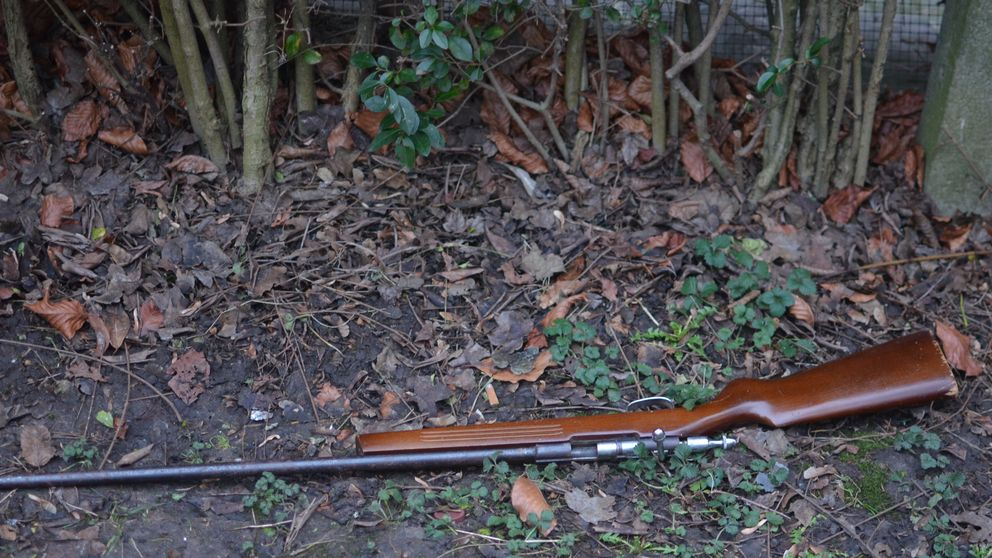 El día que encontré un rifle de francotirador en un parque belga