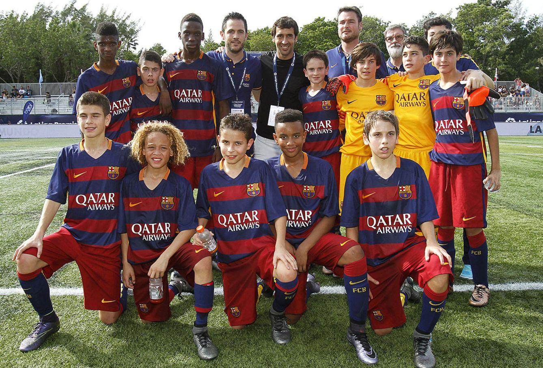 barcelona y sus jugadores