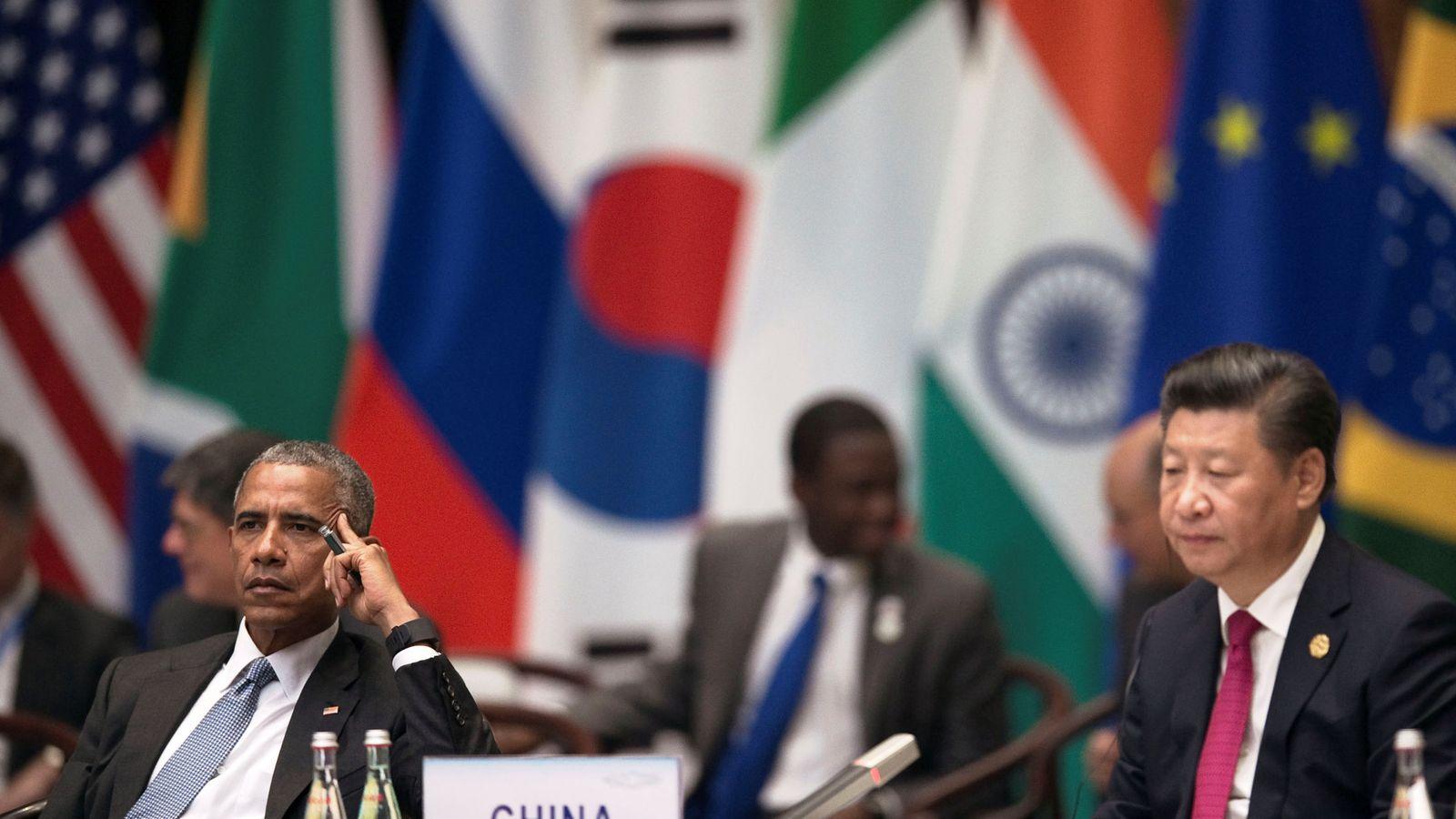Foto: El presidente Barack Obama durante la ceremonia de apertura de la cumbre del G20 en Hangzhou, China, el 4 de spetiembre de 2016 (Reuters).
