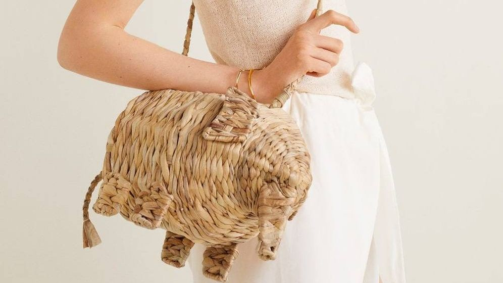 Foto: Bolso con forma de elefante. (Mango)