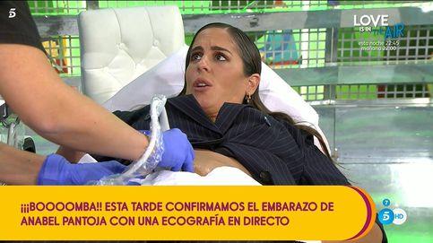 'Sálvame' vuelve a cachondearse de Anabel: le hacen una ecografía en directo
