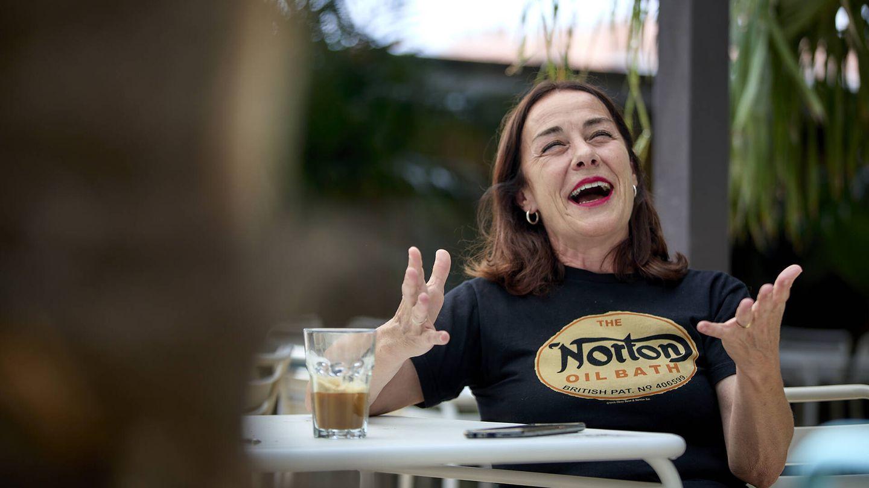 La directora de casting, Rosa Estévez. (J. H.)