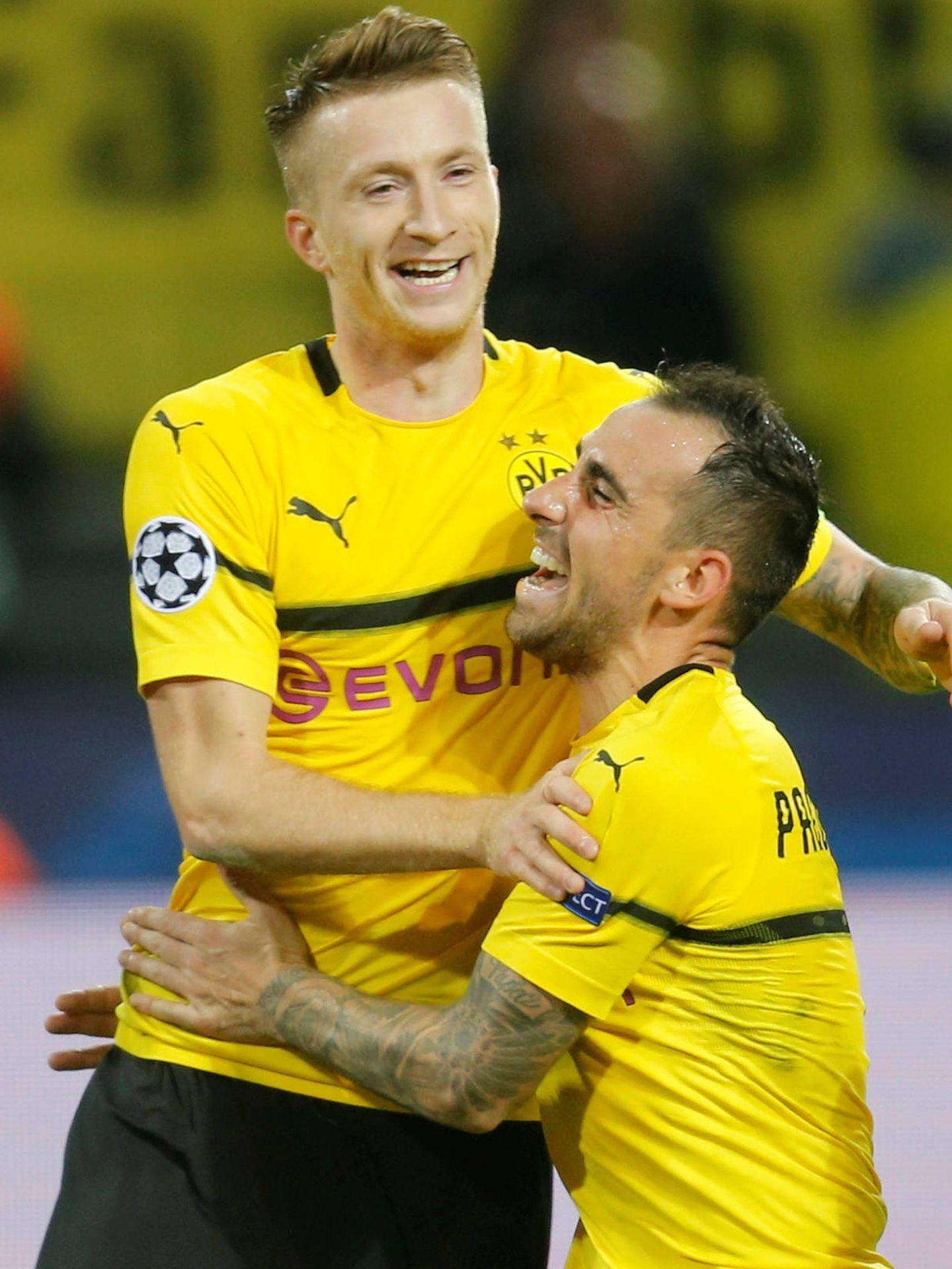 Reus ha recibido a Alcácer con los brazos abiertos en el Borussia Dortmund. (Reuters)