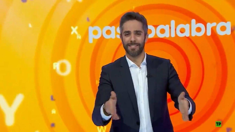 Roberto Leal, en una promo de 'Pasapalabra'. (Atresmedia)