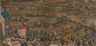 Post de Glemboux, una tragedia en toda regla causada por los tercios españoles